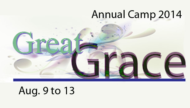 "Camp 2014 ""Great Grace"""