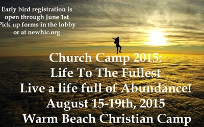 "Camp 2015 ""LIFE TO THE FULLEST"""